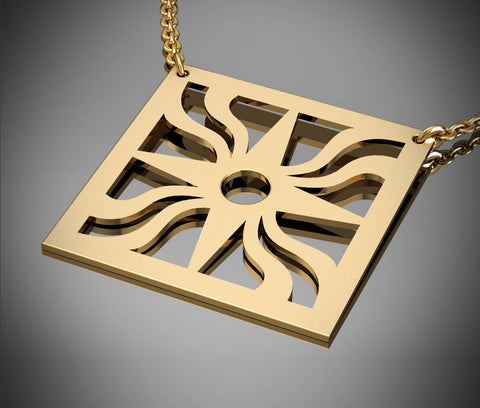 Assyrian Star - Square