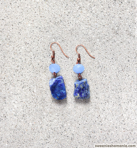 Staring At The Sky Earrings