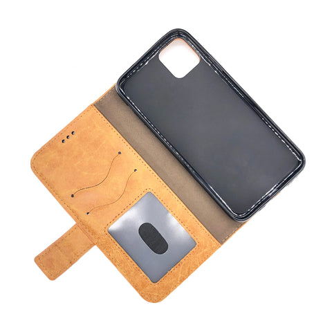Image of iPhone 11 -Luxury PU Leather Wallet Case by The Very Thing!- Ships from the USA