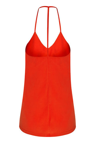 Eliza Tank Red