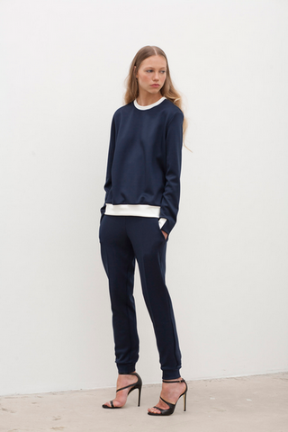 Navy Scuba Sweater