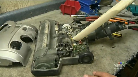 CTV News Keeping the vacuum repair business alive