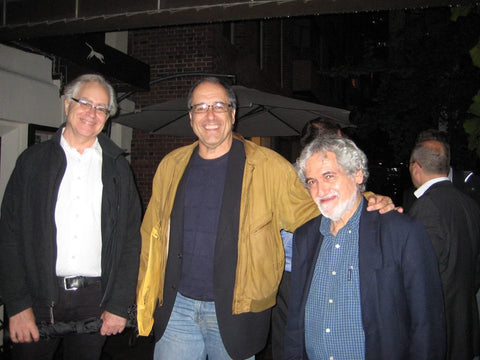 Dave Kehr, Scott Eyman and Charles Silver at MoMA in 2010