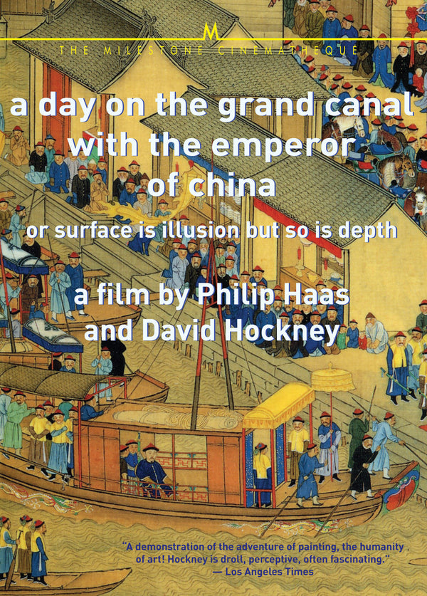 Day on the Grand Canal with the Emperor of China