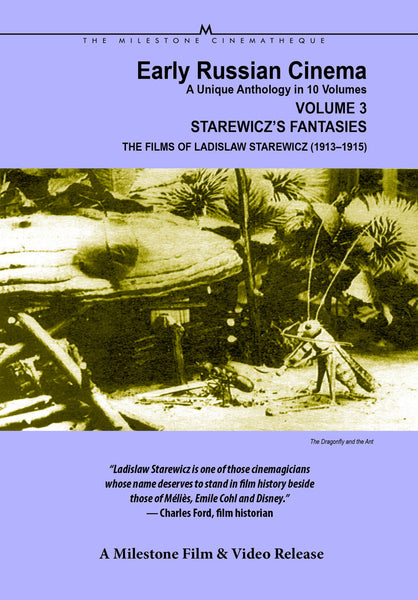 Early Russian Cinema, Volume 3: Starewicz's Fantasies