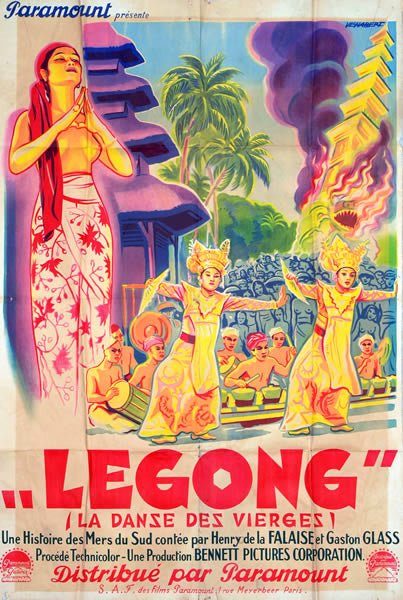 Legong: Dance of the Virgins