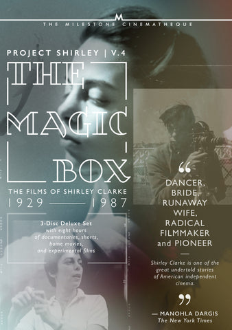The Magic Box: Project Shirley Volume 4: The Films of Shirley Clarke: 3 Disc Set
