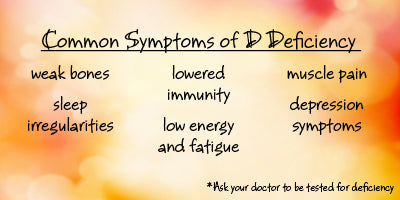 Common Symtoms of Vitamin D Deficiency | Bulu Box - Sample superior vitamins and supplements