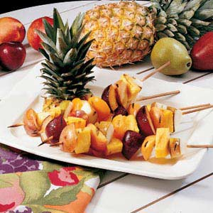 Grilled Fruit Kabobs | Bulu Box - sample superior vitamins and supplements