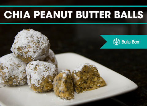 Chia Peanut Butter Balls | Bulu Box - sample superior vitamins and supplements