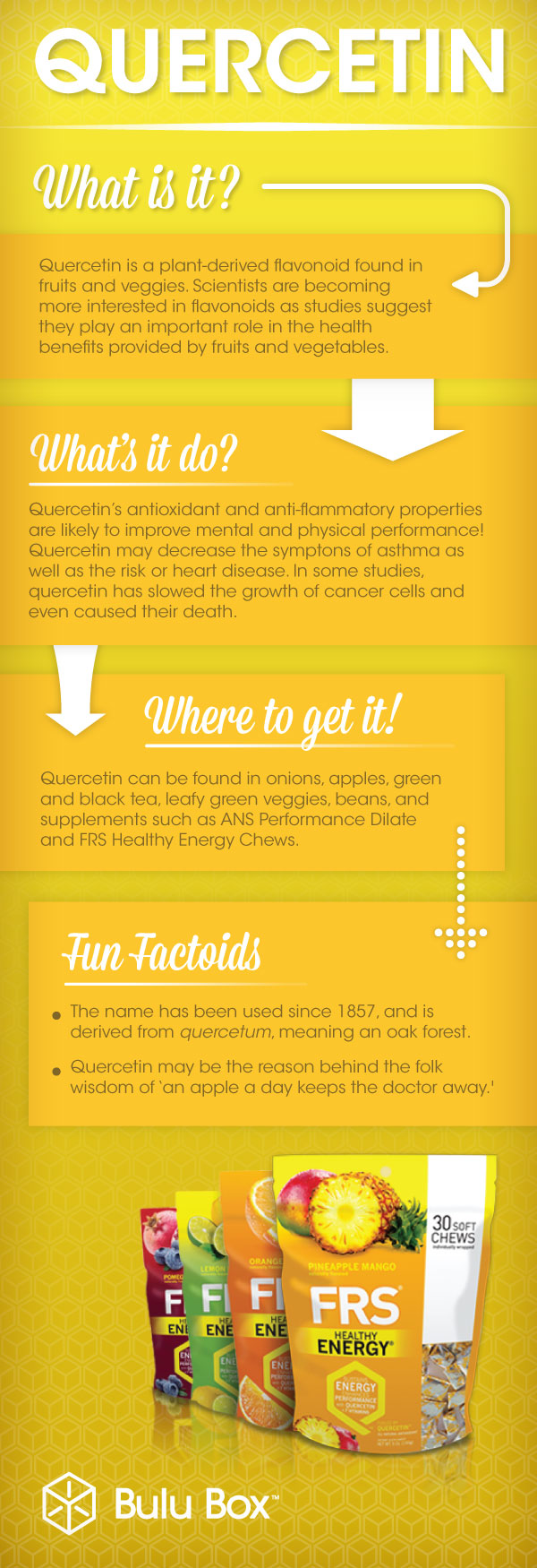 Quercetin Quick Fact | Bulu Box - sample superior vitamins and supplements