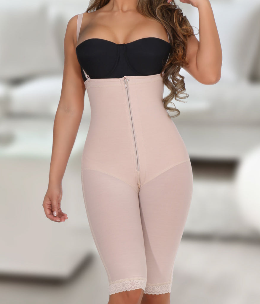 Full Body shaper with open-holes design - NYX Shapewear