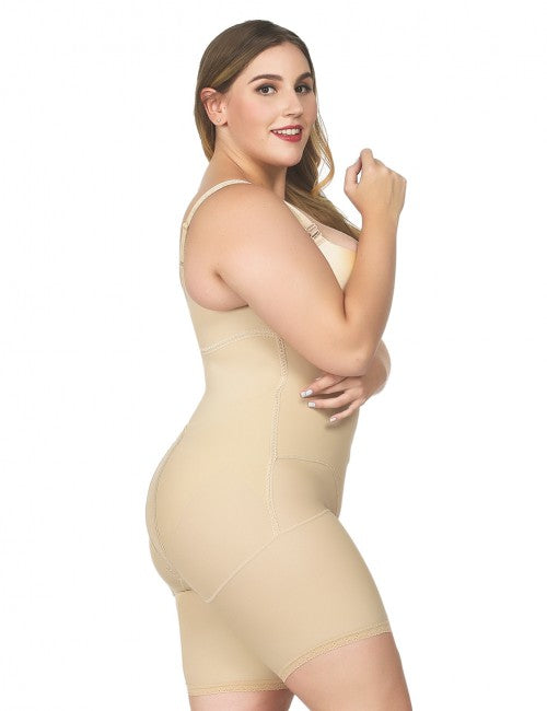 Plus Size - Mommy Recovery Bodysuit - NYX Shapewear