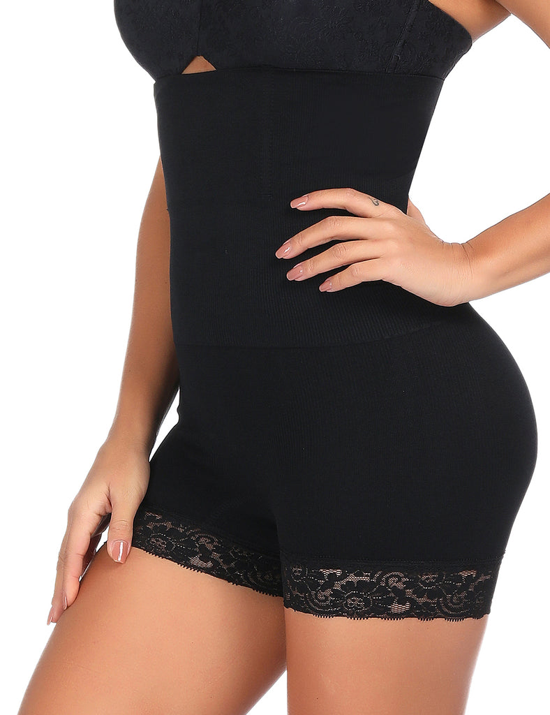 High waist 4 Steel Bone Lace Butt Lifter - NYX Shapewear
