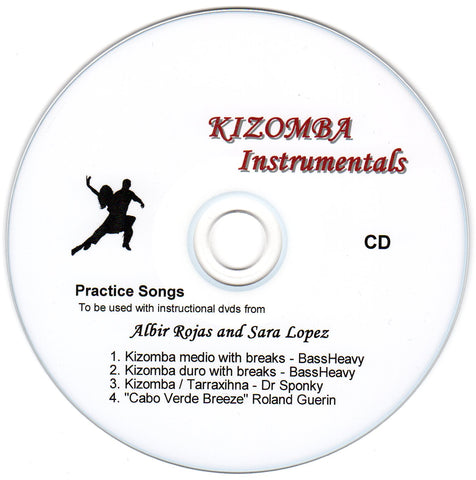 z Kizomba, Semba and Tarraxihna instrumental practice songs