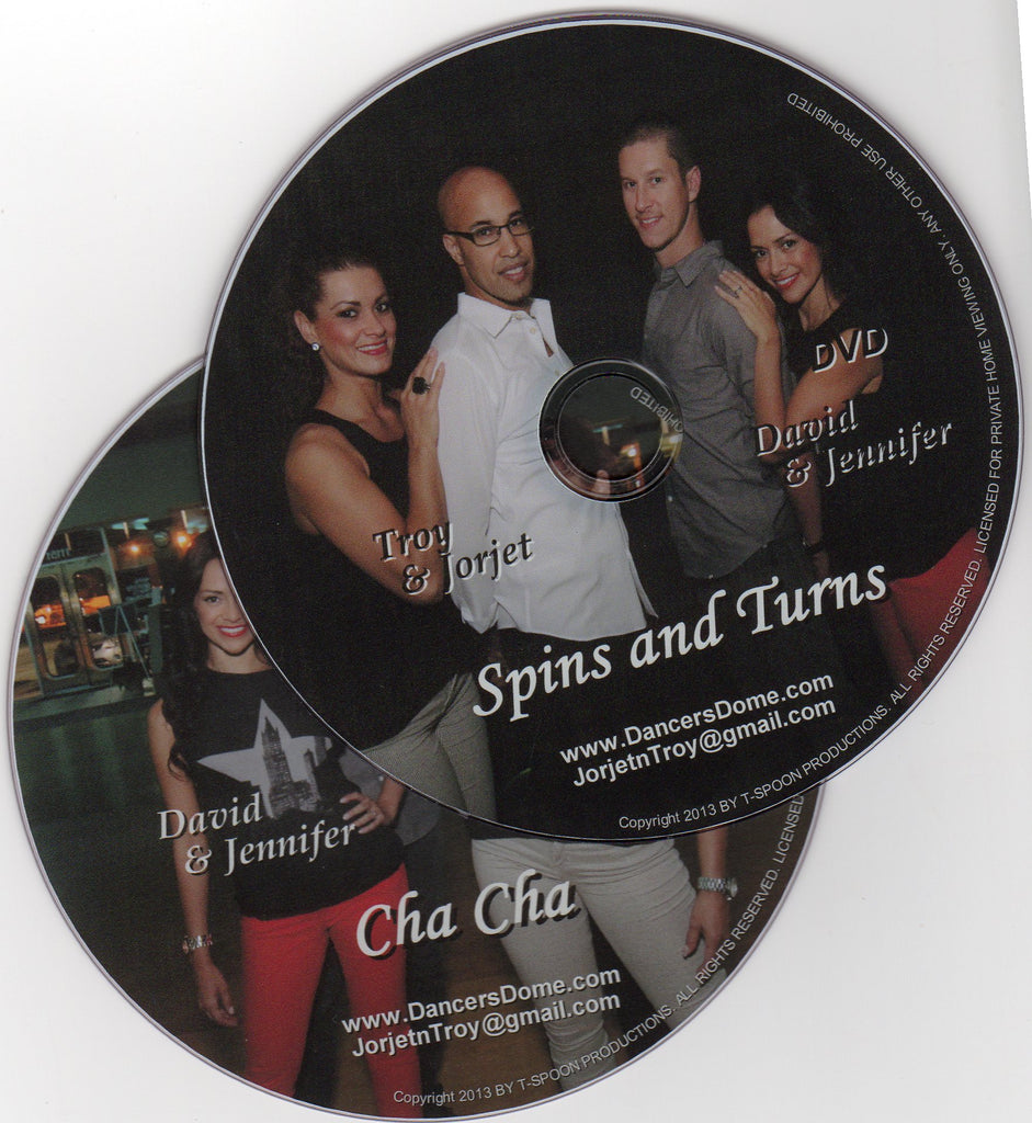 "Spins, Turns/ Cha Cha ""Bundle Pack"""