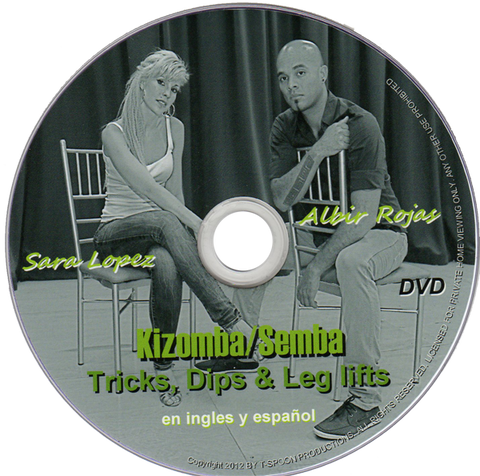 "8. Kizomba /Semba ""Tricks Dips Leg lifts"""