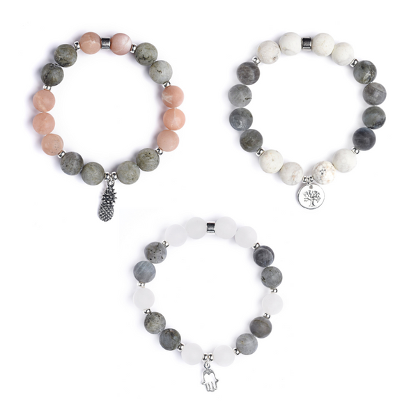 I AM LIGHT TRIO | PLAYFULNESS • RESPECT • EMPATH - Aiyanajewelry - beautiful handcrafted intention jewelry