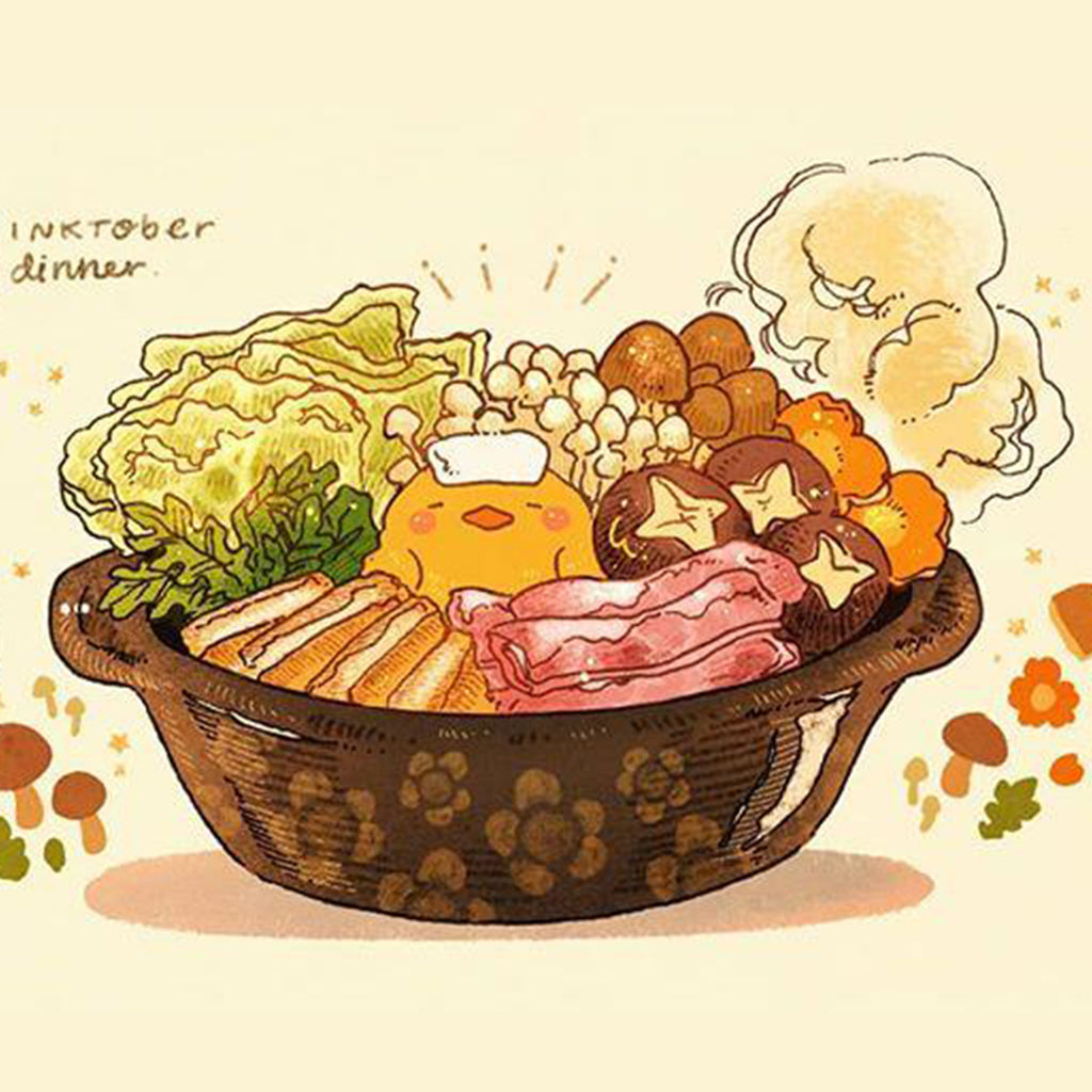 Bet You'll Love Nao's Warm and Toasty Food Illustrations