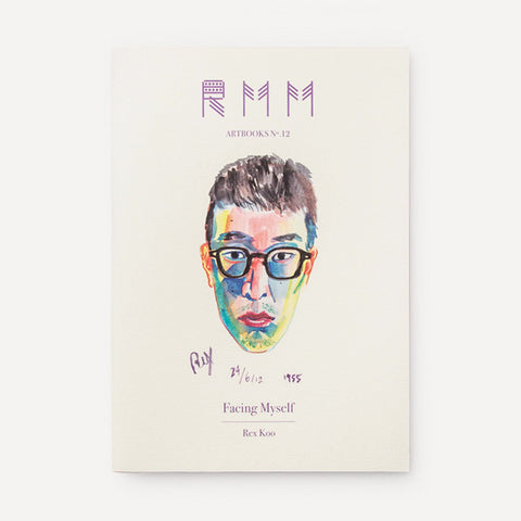 RMM Artbooks No.12 — Facing Myself, by Rex Koo (Hong Kong) - Readymade Objects Shop - 1