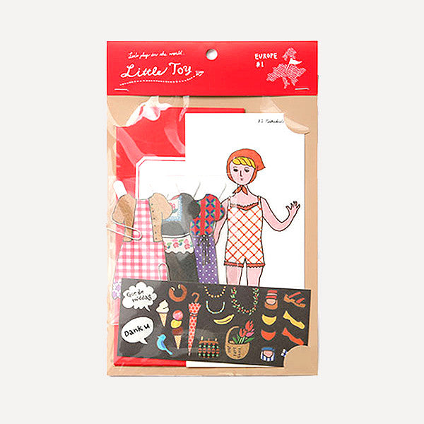 Little Toy Dress Up Letter, Young Girl - Readymade Objects Shop - 1