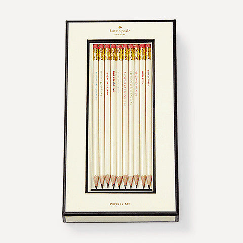 What's The Word Pencil Set - Readymade Objects Shop - 1