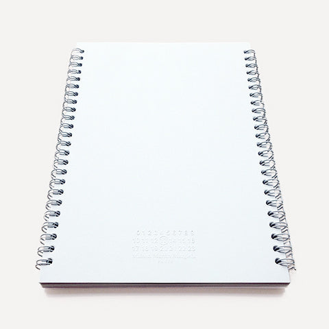 Claustrophobic Notebook by Maison Martin Margiela, m - Readymade Objects Shop - 1