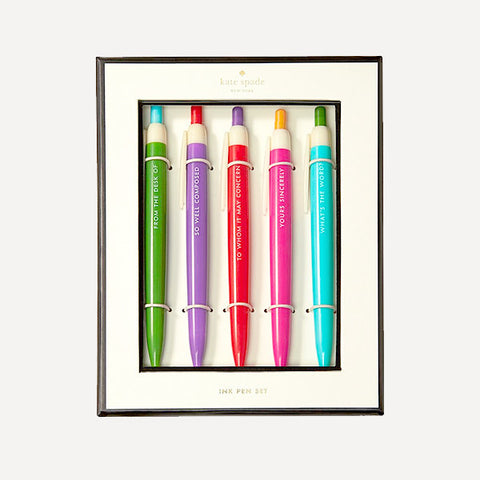 Pen Set - So Well Composed - Readymade Objects Shop - 1