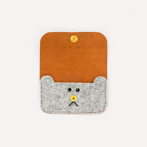 Bear Card Case - Readymade Objects Shop - 1