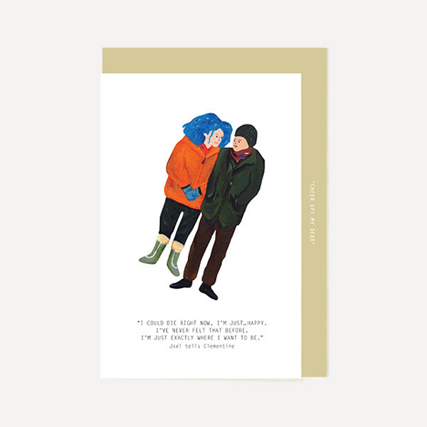 Joel, Clementine - Eternal Sunshine Of The Spotless Mind - Readymade Objects Shop - 1