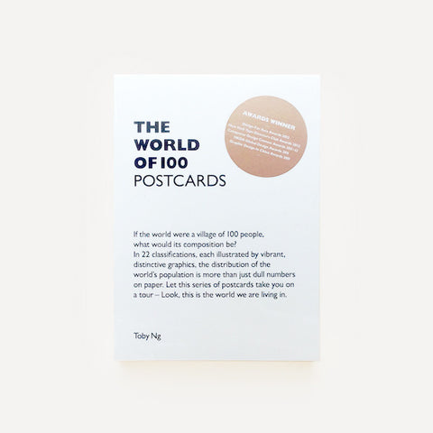 The World Of 100 Post Cards, Toby Ng - Readymade Objects Shop - 1