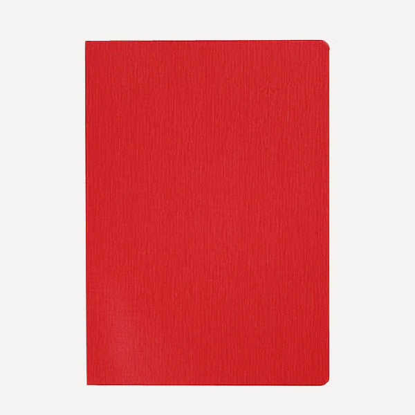 HUM Dog Ear Notebook, L size, Red Color - Readymade Objects Shop - 1