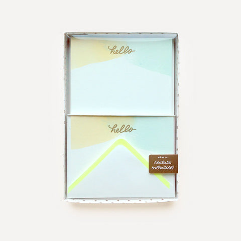 Couture Collection (Monogram Water Hello Set, 12 pcs / set) - Readymade Objects Shop