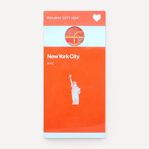Railway City Map, New York City - Readymade Objects Shop - 1