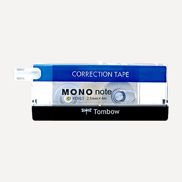 TOMBOW MONO Note Correction Tape, 2.5mm, Standard - Readymade Objects Shop - 1