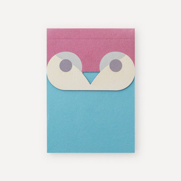 Owlendar Colour Notepad, Red - Readymade Objects Shop - 1