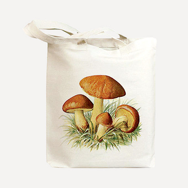 IDIOPIX C.C. Tote bag, Mushroom 3 - Readymade Objects Shop - 1