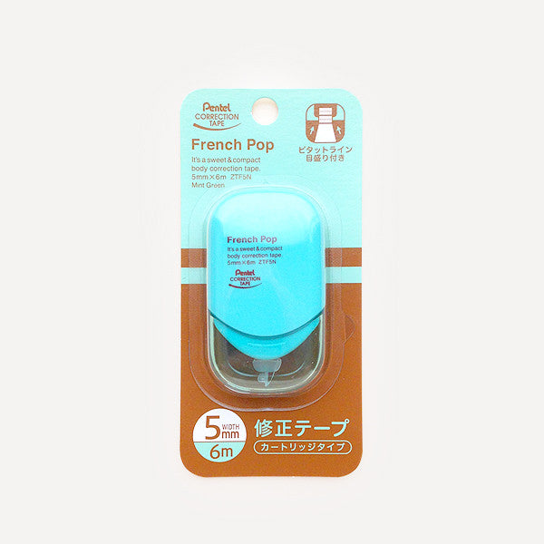 Pop'n Pop Correction Tape,  Mint Green - Readymade Objects Shop