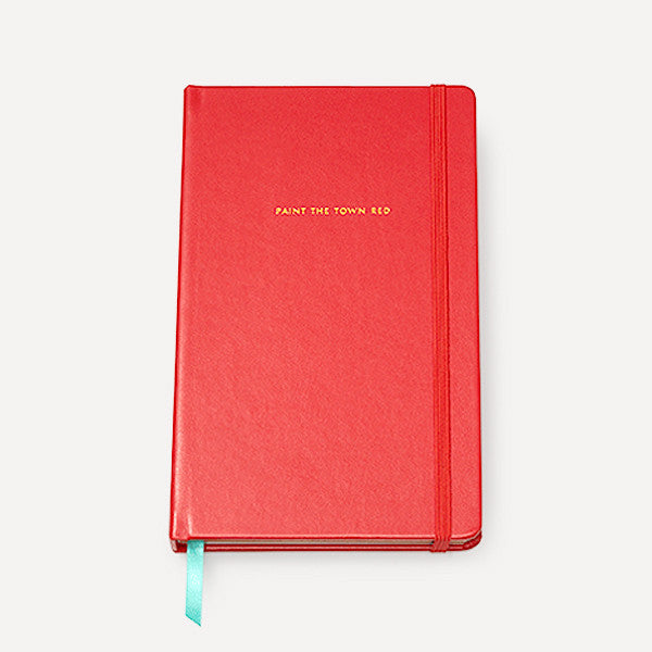 Take Note Large Notebook, Red - Readymade Objects Shop - 1