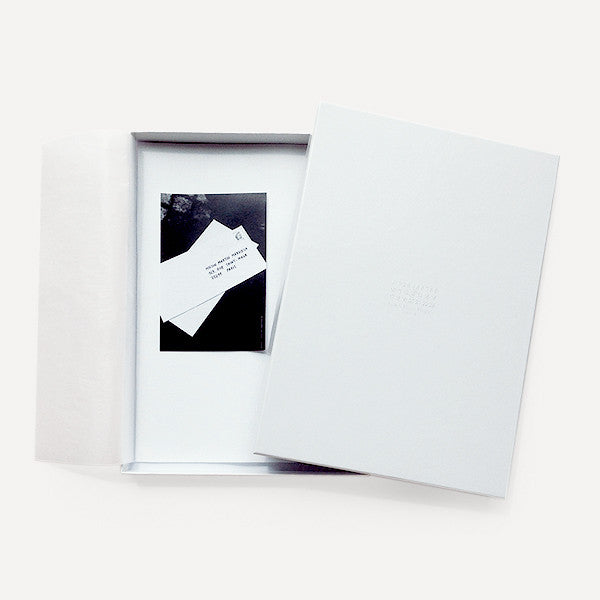 Cotton Letter Stationery by Maison Martin Margiela - Readymade Objects Shop - 1