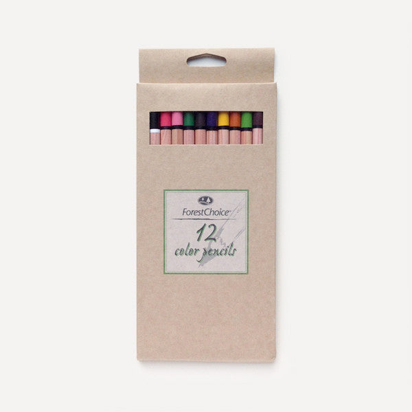ForestChoice Color Pencils (12 pcs / pack) - Readymade Objects Shop - 4