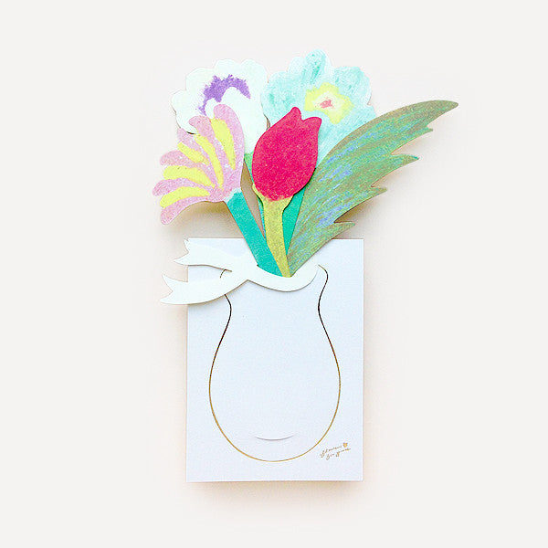 Flowers For You Greeting Card - Readymade Objects Shop - 1