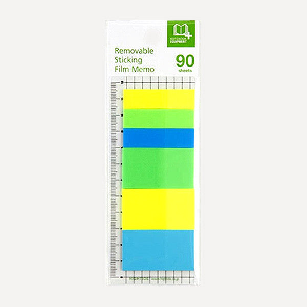 Removable Sticking Film Memo 90, C set - Readymade Objects Shop - 1