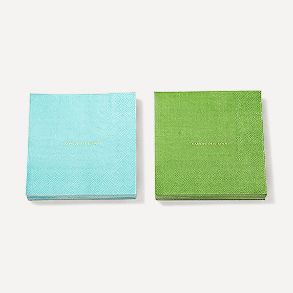 Small Talk Soiree Cocktail Napkins - Readymade Objects Shop - 1