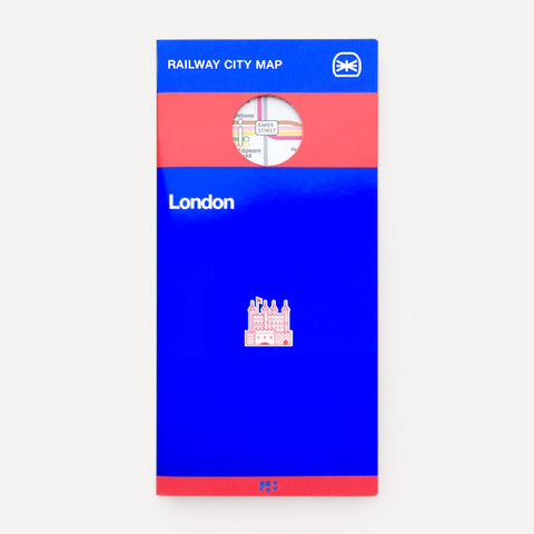 Railway City Map, London - Readymade Objects Shop - 1