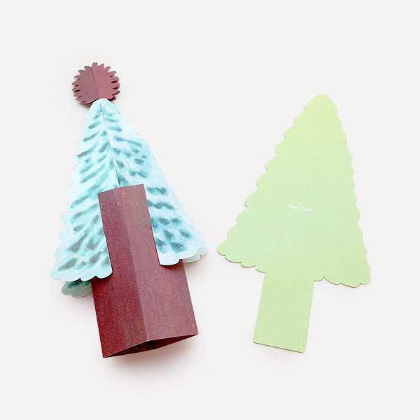 Tree Greeting Card, Grang Version - Readymade Objects Shop