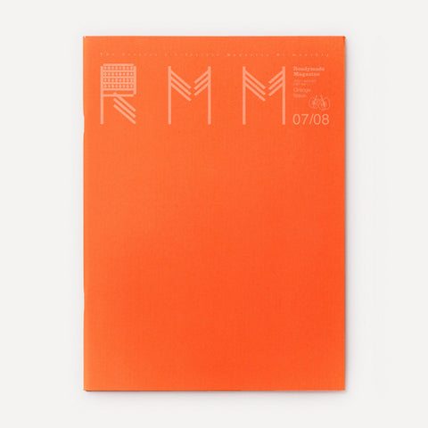 RMM Magazine, Vol.11, Orange Issue - Readymade Objects Shop - 1