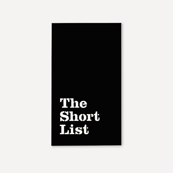 Small Notepad, The Short List - Readymade Objects Shop - 1