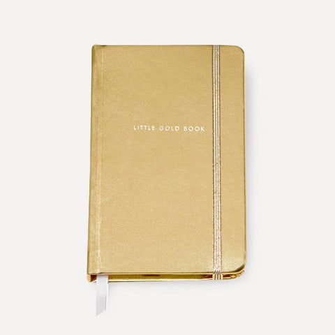 Take Note Medium Notebook, Gold - Readymade Objects Shop - 1