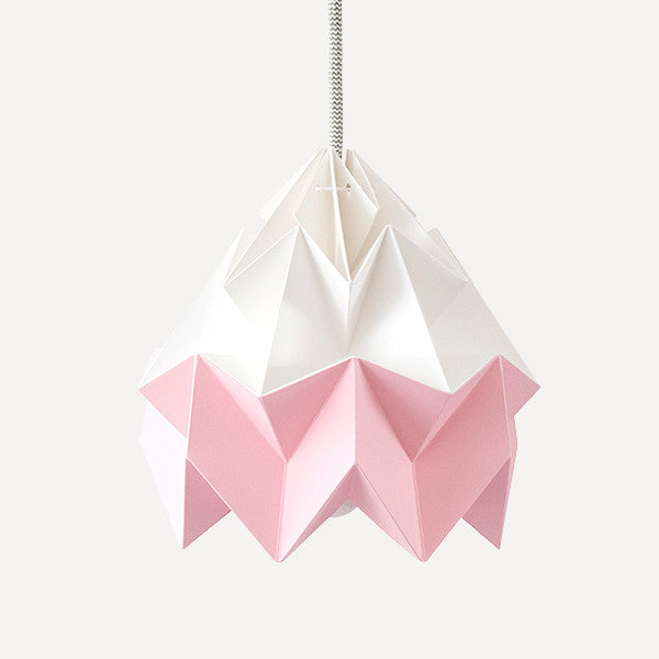 Moth Paper Origami Lamp, Pink - Readymade Objects Shop - 1